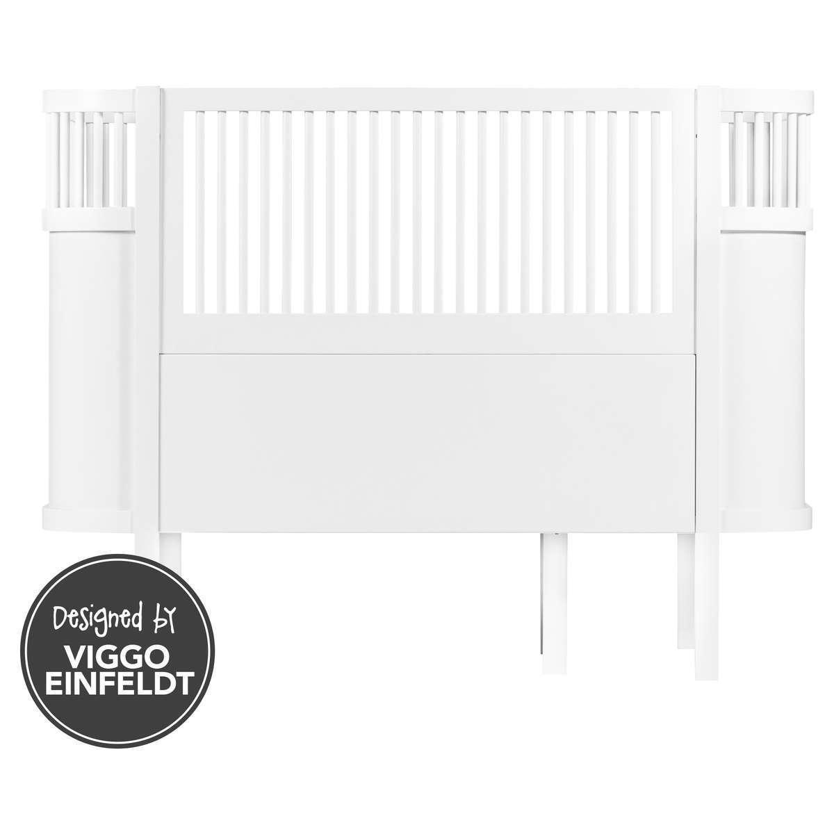 Lit bébé Lit Bébé Evolutif Sebra Bed Blanc - 70 x 110 cm Lit Bébé Evolutif Sebra Bed Blanc - 70 x 110 cm
