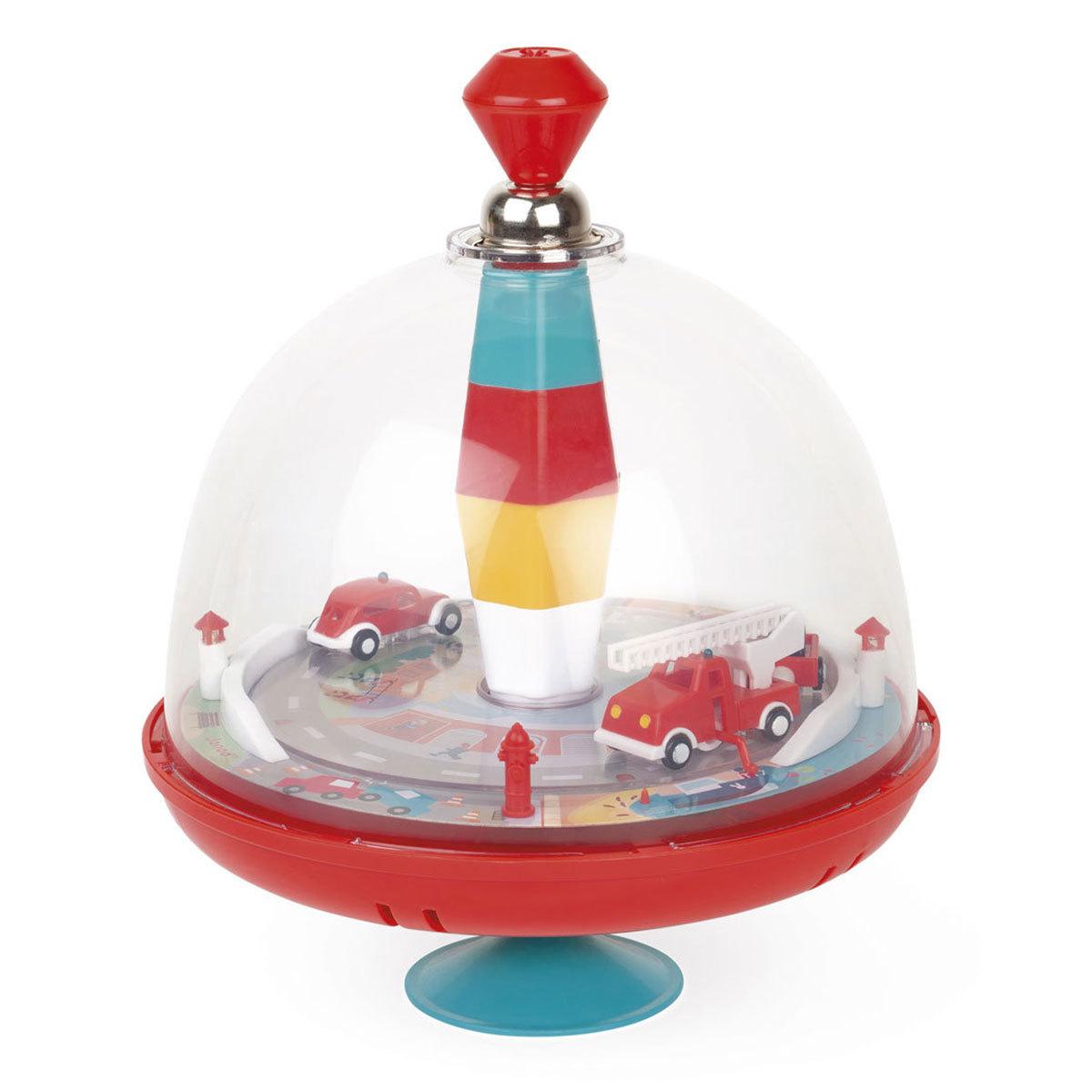 Mes premiers jouets Toupie Musicale Pompiers Toupie Musicale Pompiers