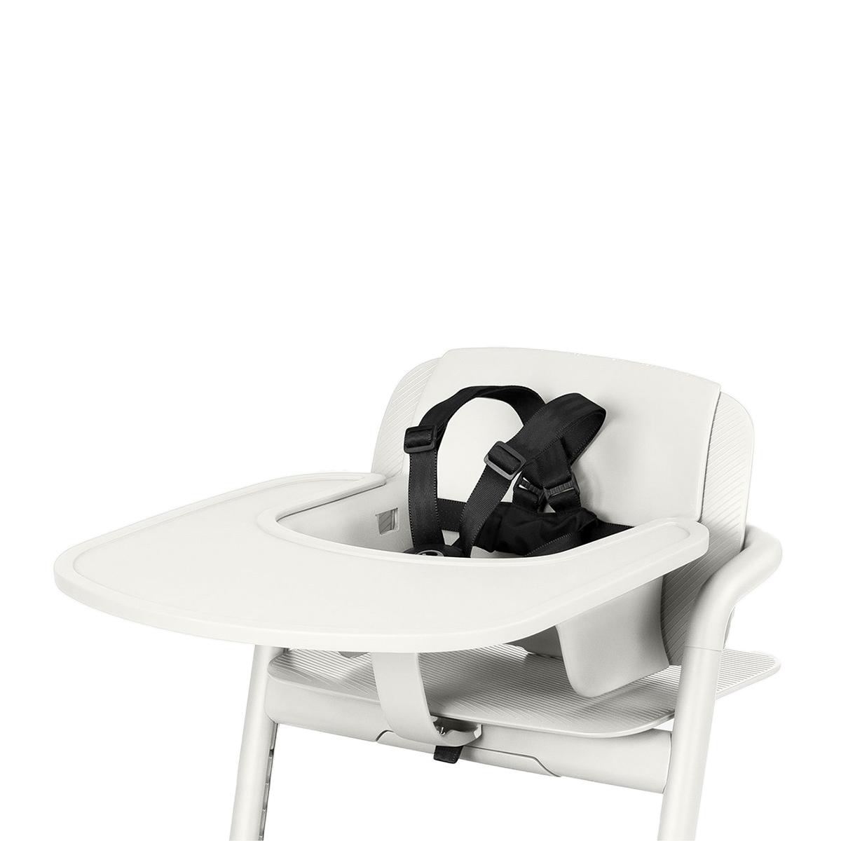 Chaise haute Plateau pour Chaise Haute Lemo - Porcelaine White Plateau pour Chaise Haute Lemo - Porcelaine White