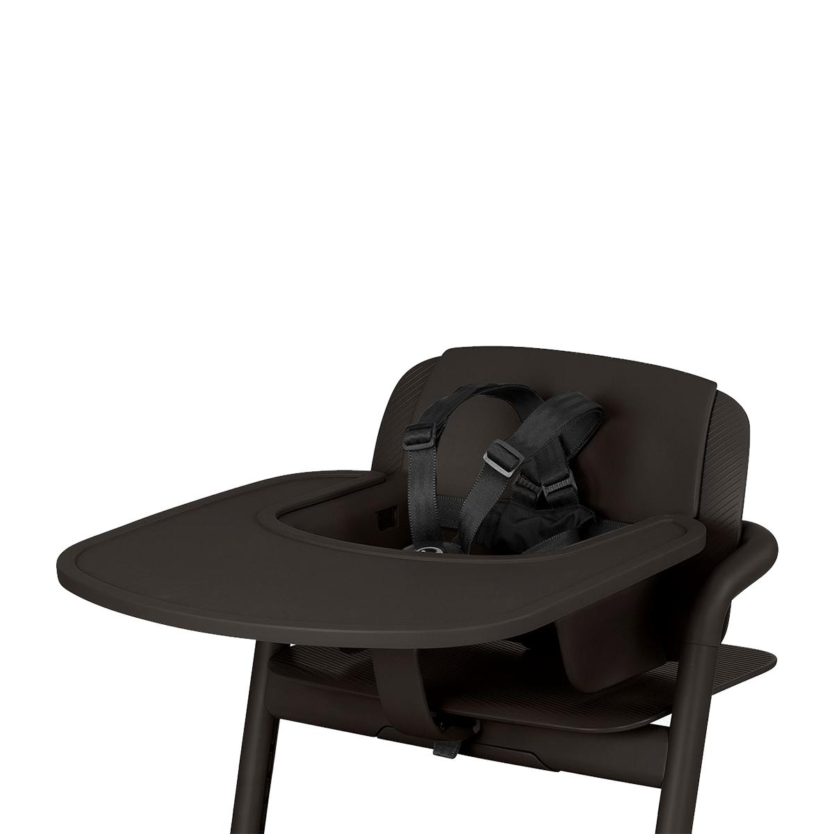 Chaise haute Plateau pour Chaise Haute Lemo - Infinity Black Plateau pour Chaise Haute Lemo - Infinity Black