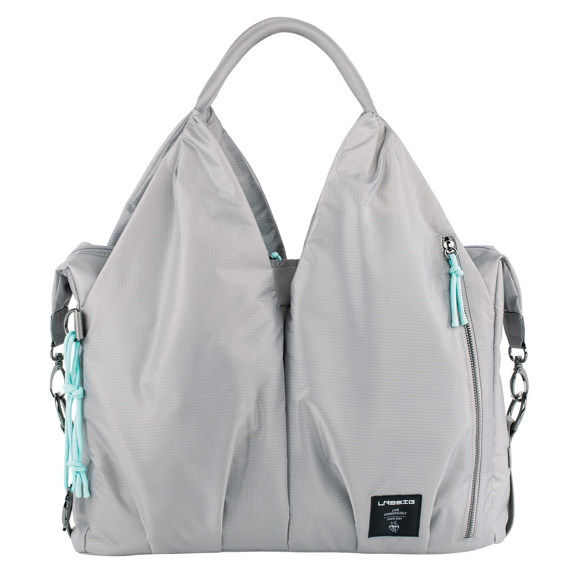 Sac à langer Sac à Langer Neckline Pop Green Label - Gris Sac à Langer Neckline Pop Green Label - Gris