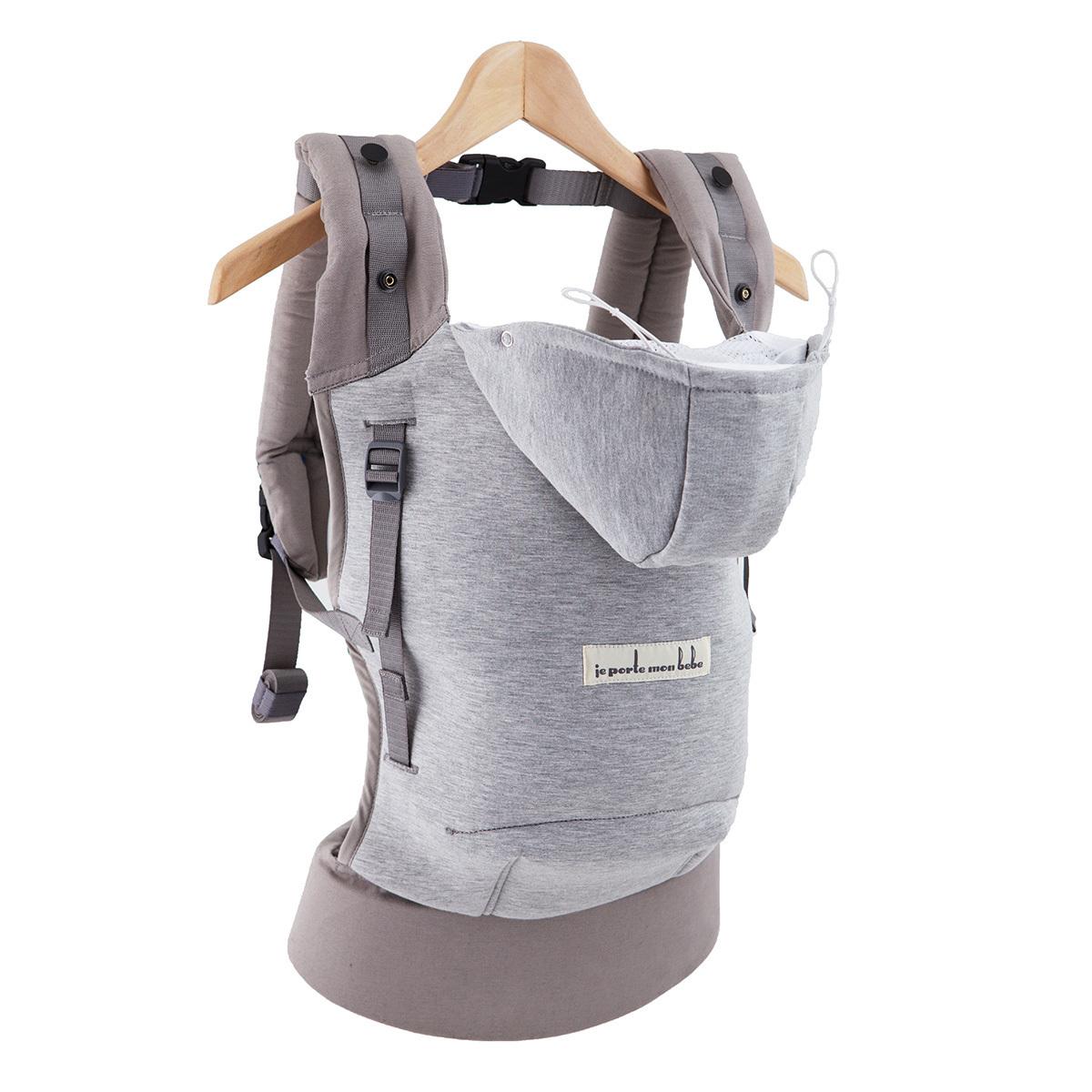 d89b4ccc8451 Porte bébé Hoodie Carrier et Booster Pack - Gris Athlétique Hoodie Carrier  et Booster Pack -