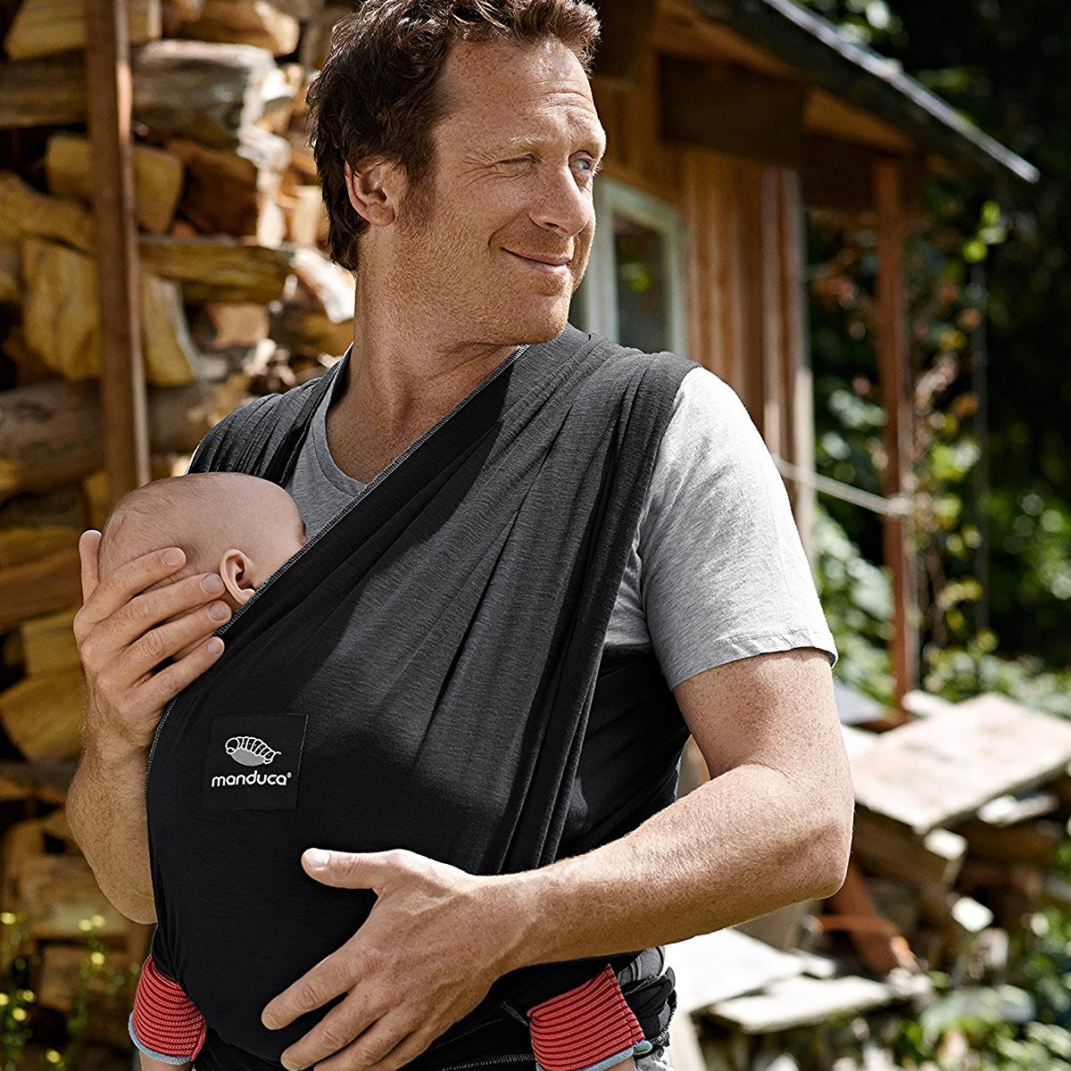 manduca echarpe de portage sling noir porte b b. Black Bedroom Furniture Sets. Home Design Ideas
