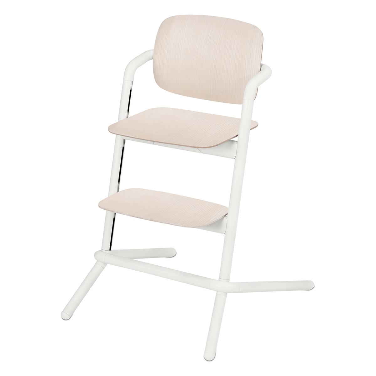 Chaise haute Chaise Haute Lemo Bois - Porcelaine White Chaise Haute Lemo Bois - Porcelaine White