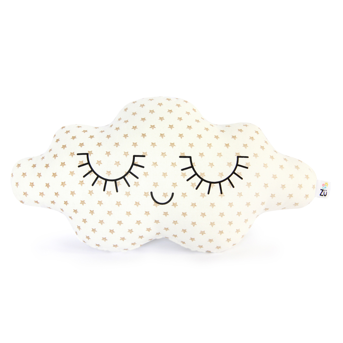 Coussin Coussin Nuage Etoiles Or Coussin Nuage Etoiles Or