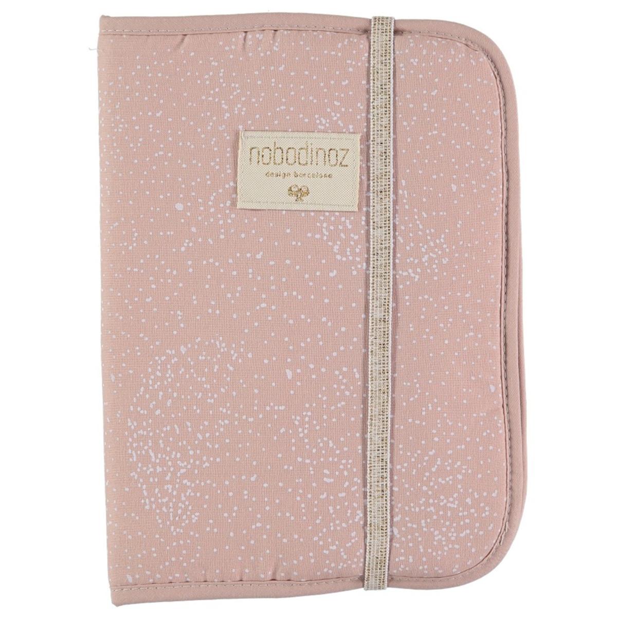 Protège-carnet santé Protège Carnet de Santé Poema - White Bubble & Misty Pink Protège Carnet de Santé Poema - White Bubble & Misty Pink