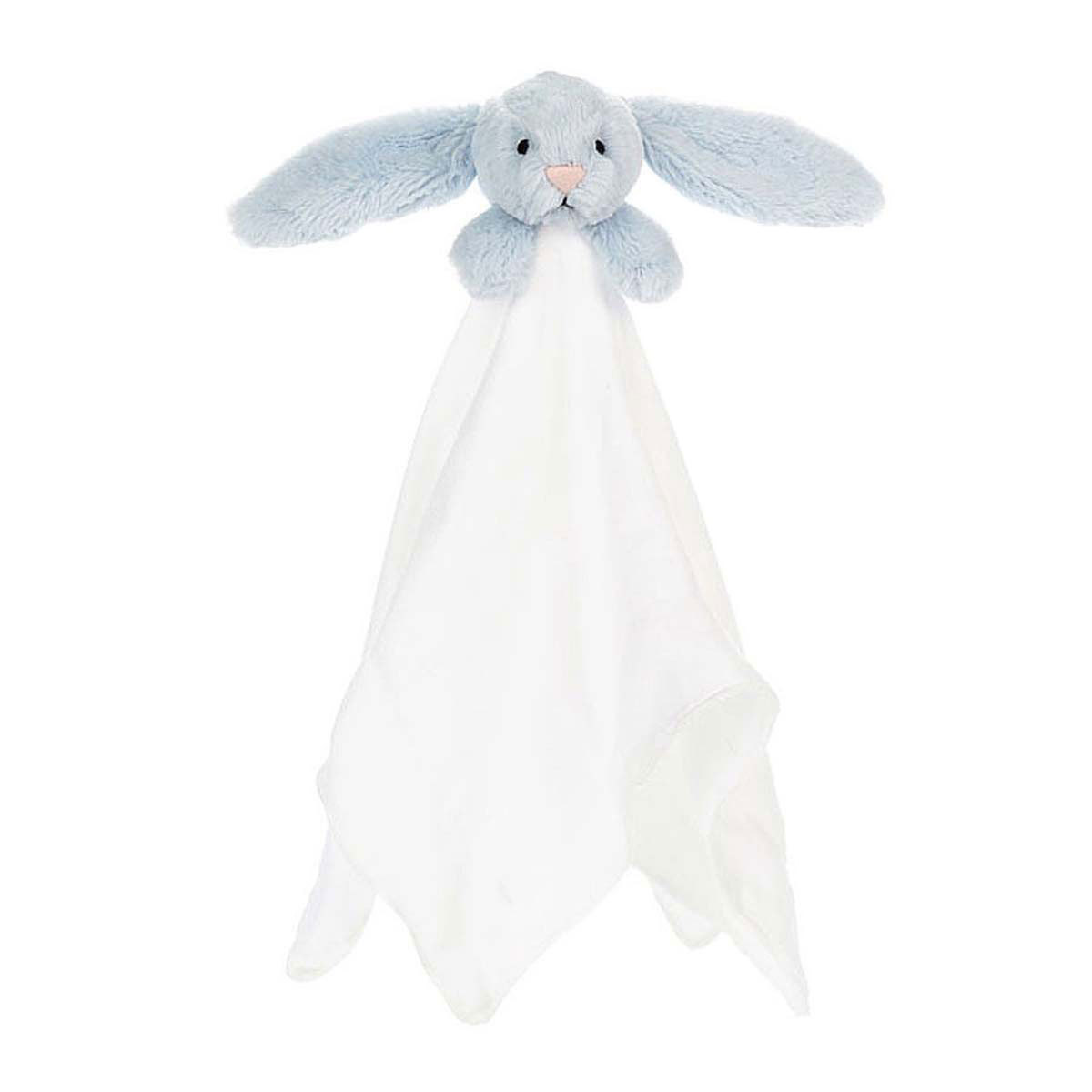 Doudou Bashful Blue Bunny Muslin Soother Bashful Blue Bunny Muslin Soother