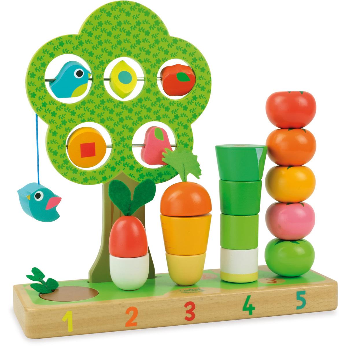 Mes premiers jouets J'apprends à compter les fruits & légumes J'apprends à compter les fruits & légumes