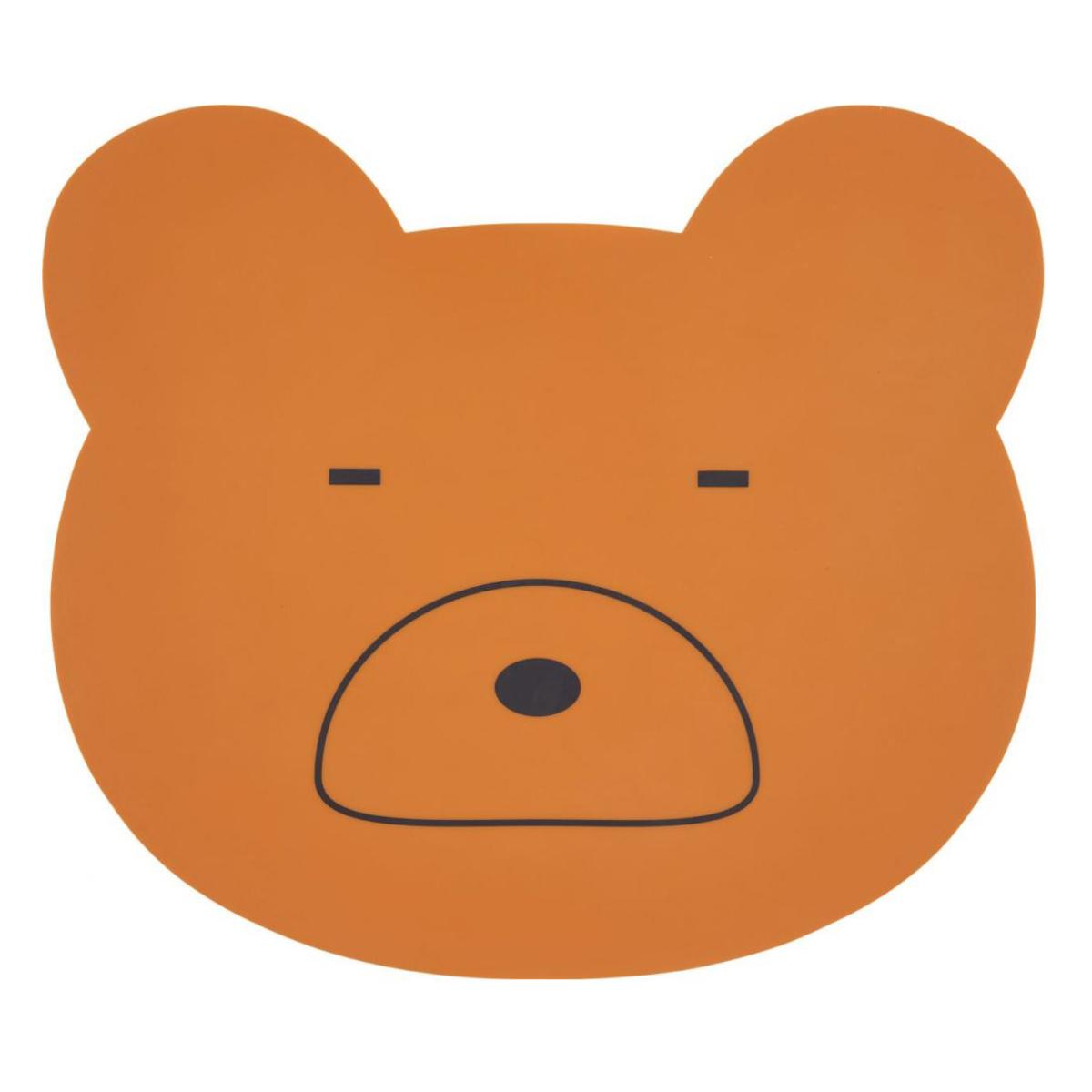 Vaisselle & Couvert Set de Table Aura Mr. Bear - Moutarde Set de Table Aura Mr. Bear - Moutarde