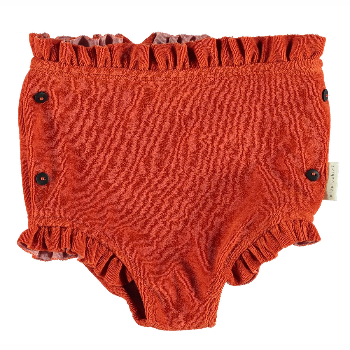 Bas bébé Short Taille Haute - Rouge - 12 Mois Short Taille Haute - Rouge - 12 Mois