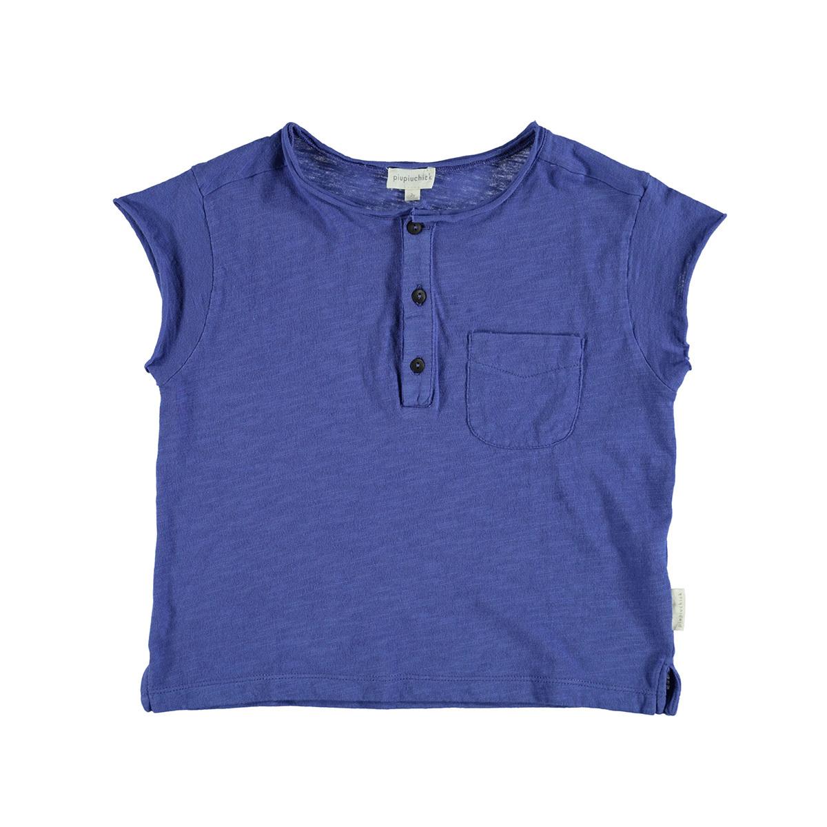 Haut bébé T-Shirt Bleu - 12 Mois T-Shirt Bleu - 12 Mois
