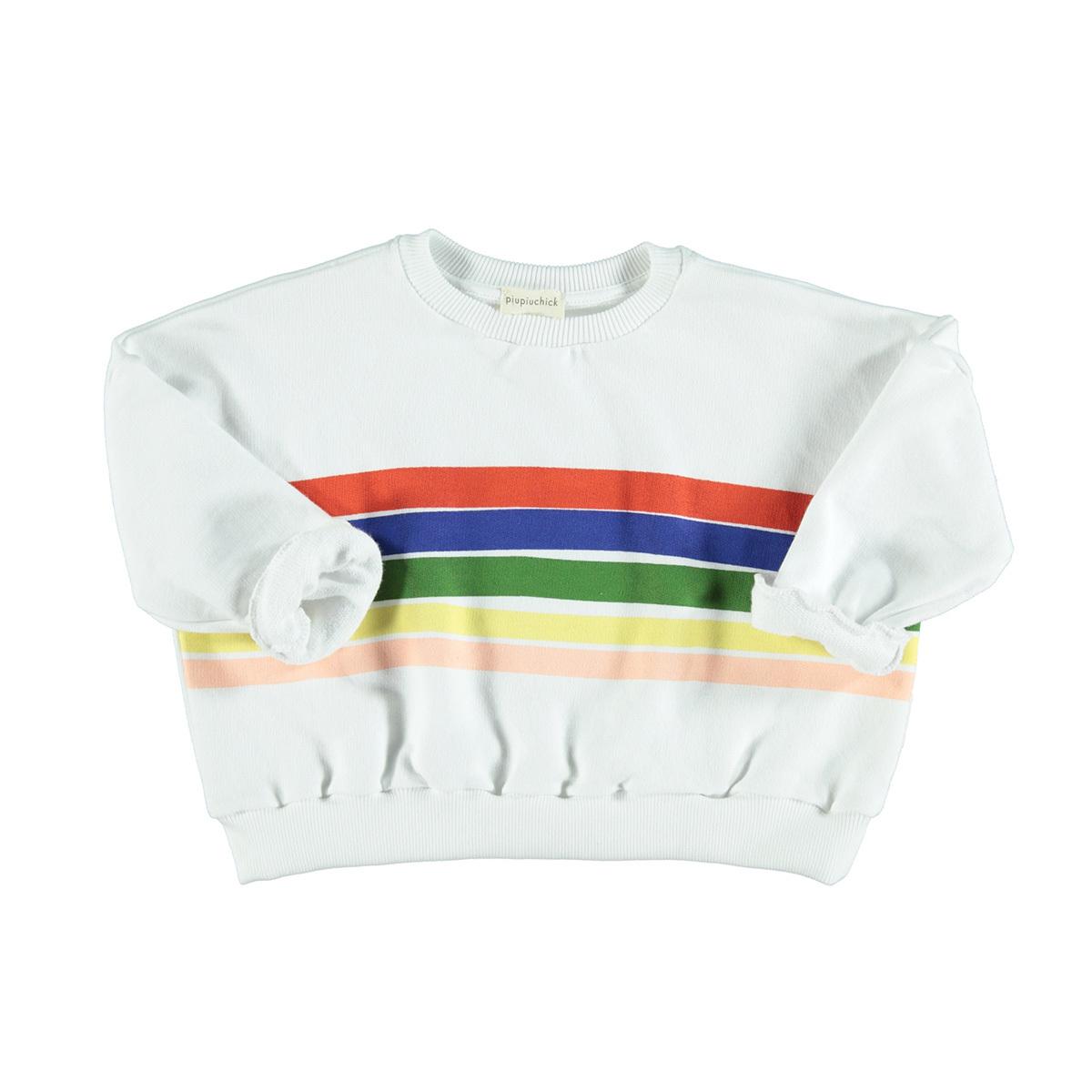 Haut bébé Sweatshirt Arc-en-Ciel - 18 Mois Sweatshirt Arc-en-Ciel - 18 Mois
