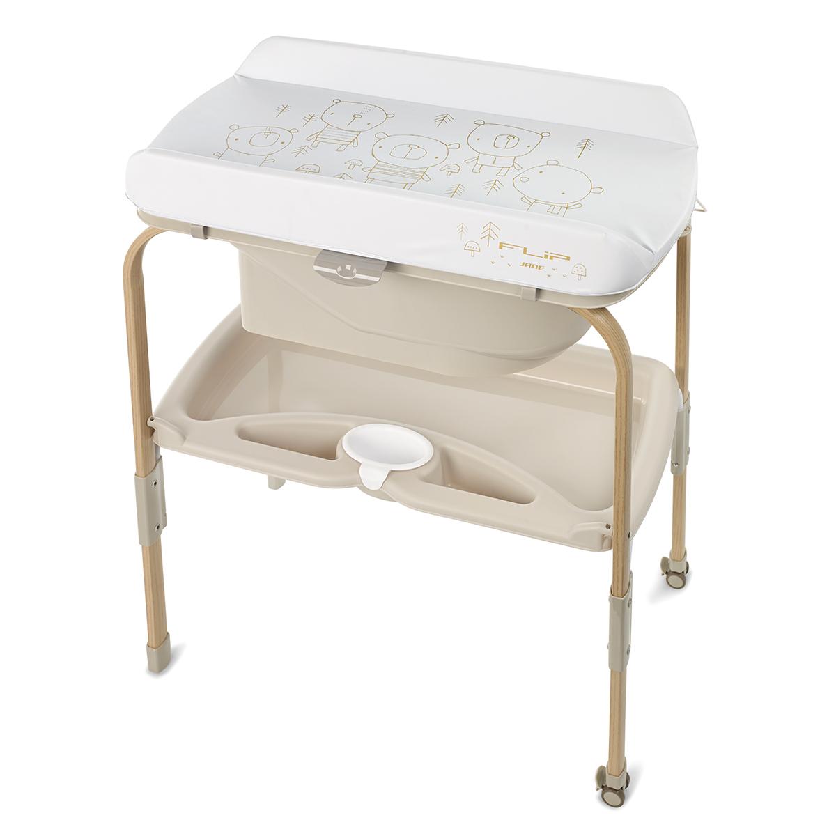 Table à langer Table à Langer et Baignoire Flip - Nature Edition Glitter
