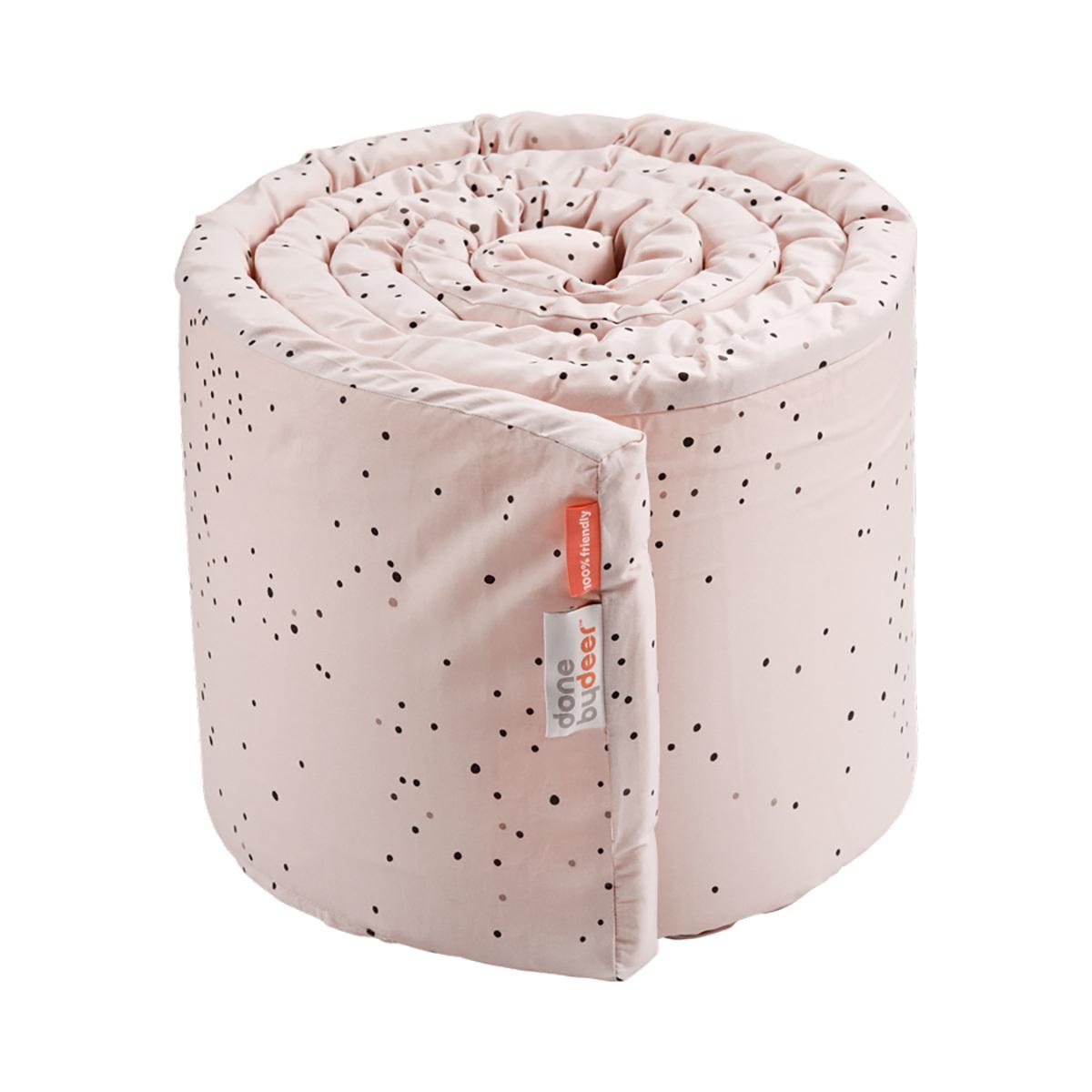 Linge de lit Tour de Lit Dreamy Dots - Rose Poudré Tour de Lit Dreamy Dots - Rose Poudré