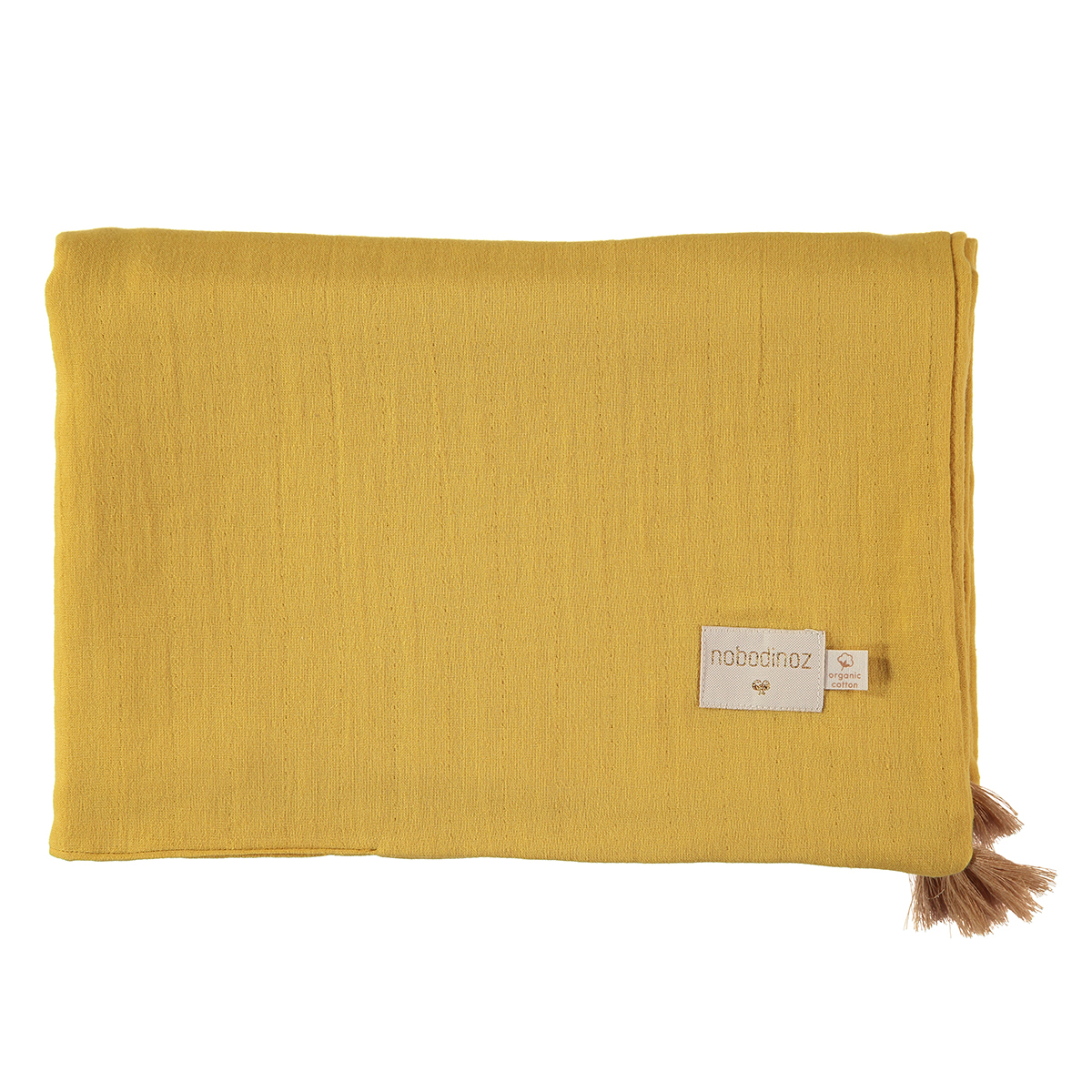 Linge de lit Couverture d'Eté Treasure - Farniente Yellow Couverture d'Eté Treasure - Farniente Yellow