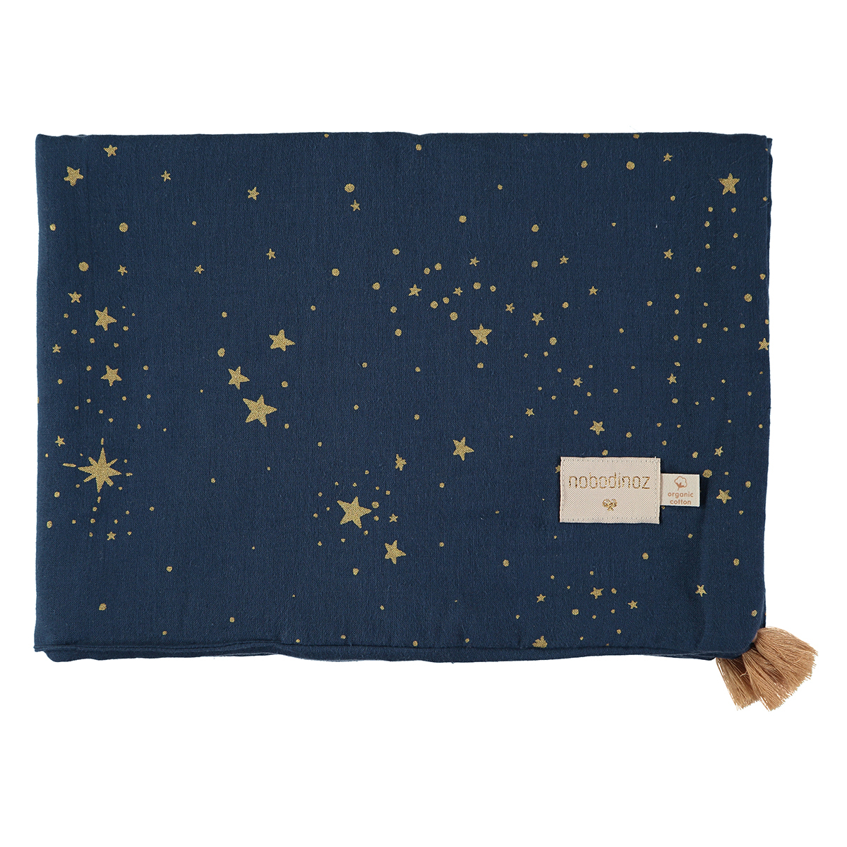 Linge de lit Couverture d'Eté Treasure - Gold Stella & Night Blue Couverture d'Eté Treasure - Gold Stella & Night Blue