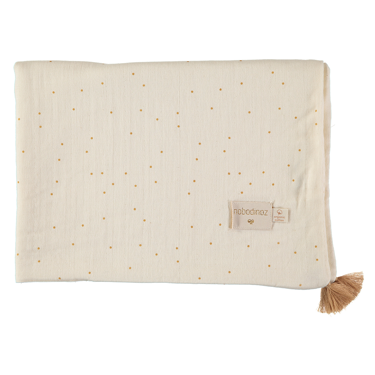 Linge de lit Couverture d'Eté Treasure - Honey Sweet Dots & Natural Couverture d'Eté Treasure - Honey Sweet Dots & Natural