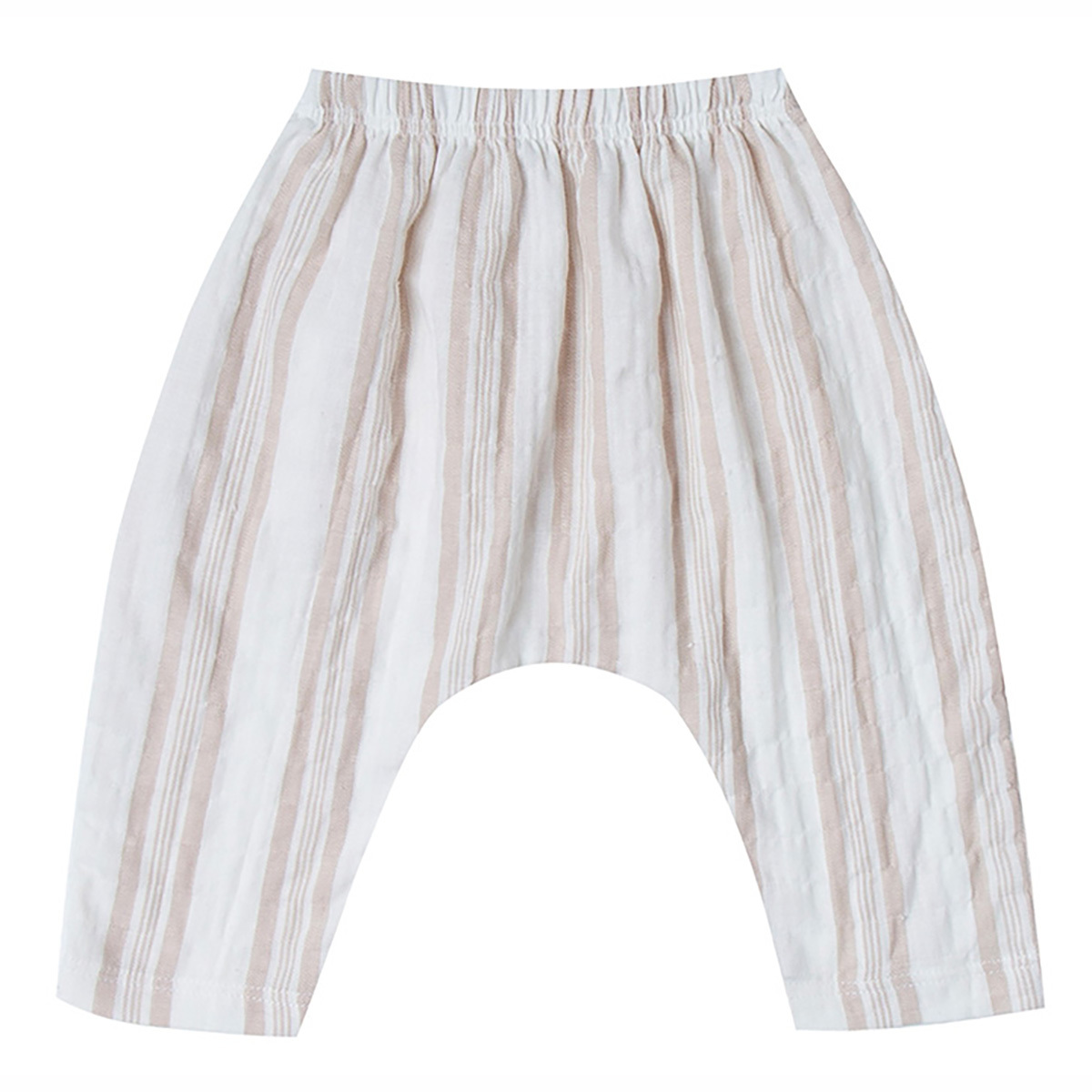 Bas bébé Pantalon à Rayures - Sand - 12/18 Mois
