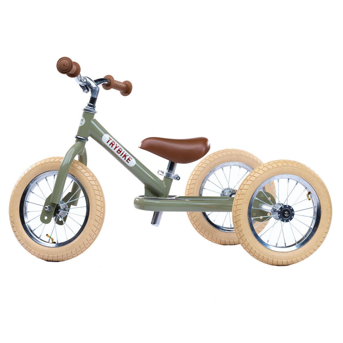 Trotteur & Porteur Trybike 2 en 1 - Vintage Vert Trybike 2 en 1 - Vintage Vert