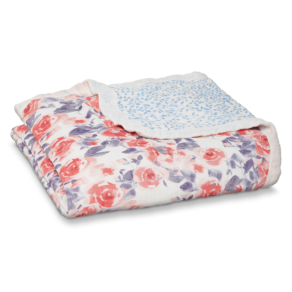 Linge de lit Couverture de Rêve Silky Soft - Watercolour Garden Couverture de Rêve Silky Soft - Watercolour Garden