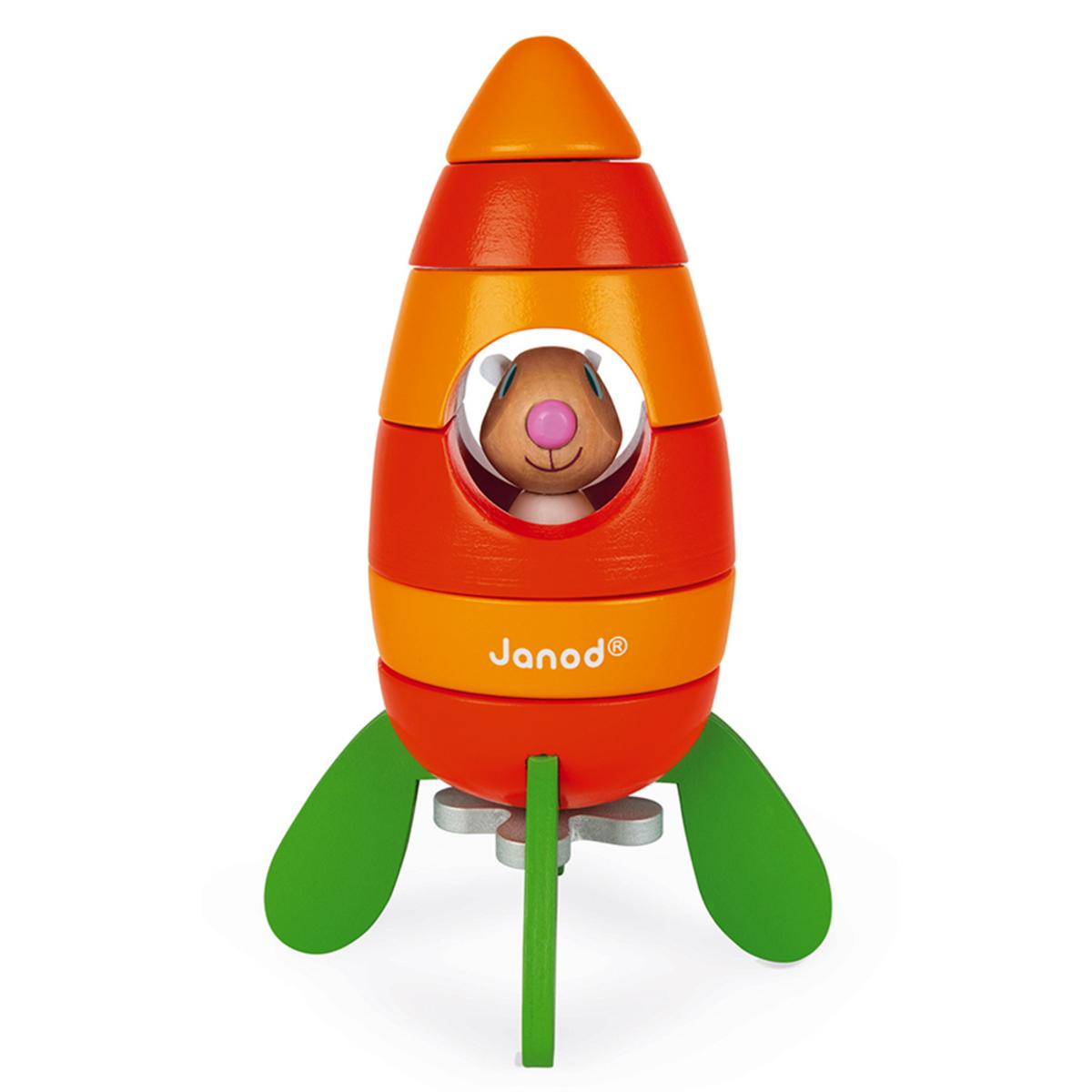 Mes premiers jouets Fusée Carotte Magnétique Fusée Carotte Magnétique