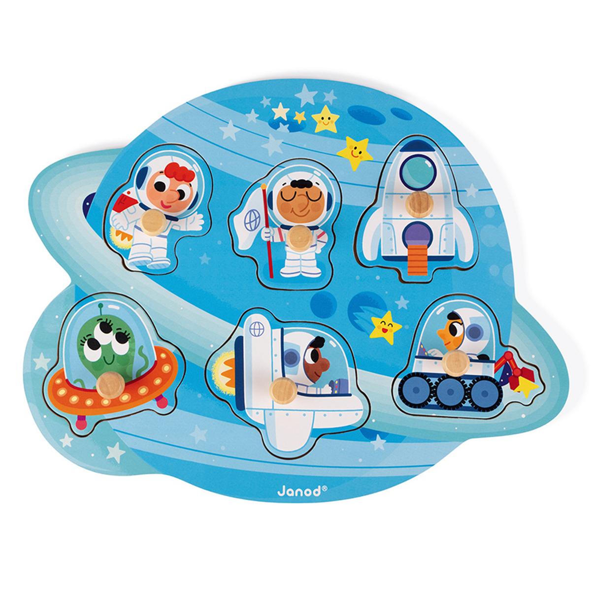 Mes premiers jouets Puzzle Happy Space Puzzle Happy Space