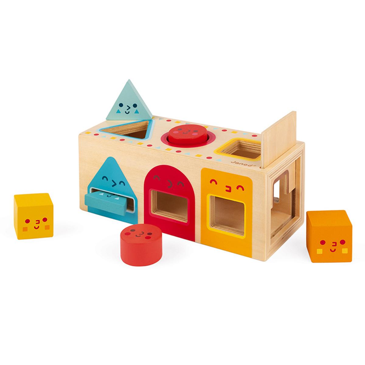 Mes premiers jouets Boîte à Formes Géométriques