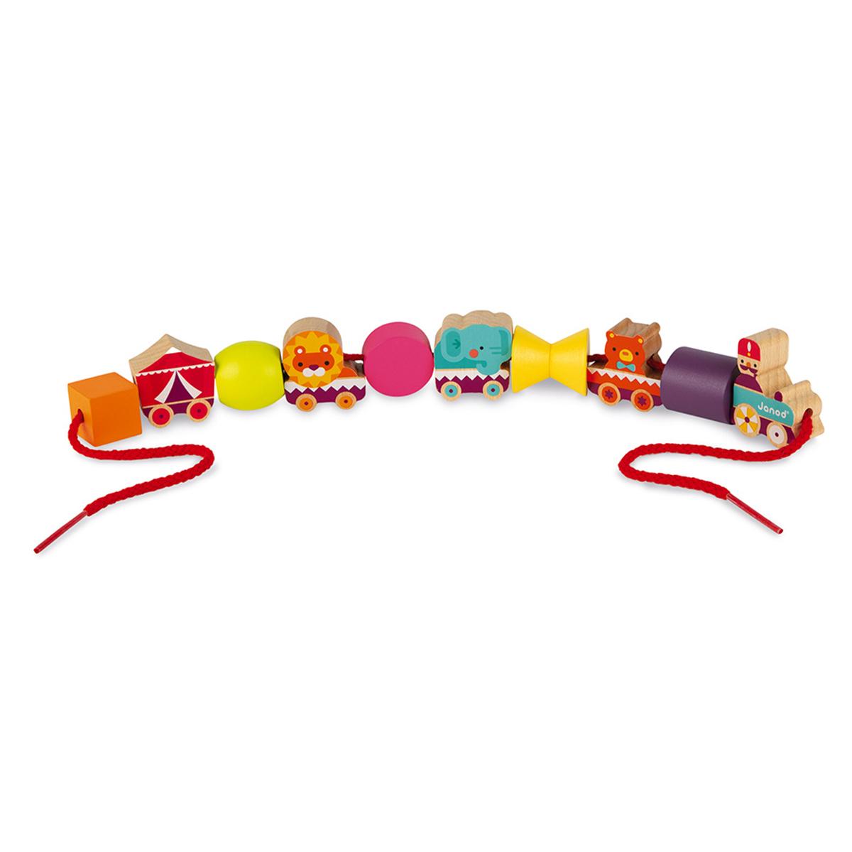 Mes premiers jouets Perles à Enfiler - Cirque Perles à Enfiler - Cirque