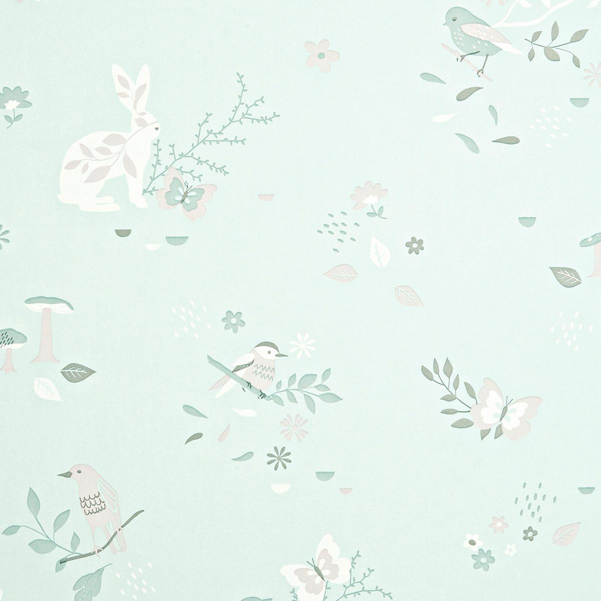 Papier peint Papier Peint Secret Garden - Waterlily Papier Peint Secret Garden - Waterlily