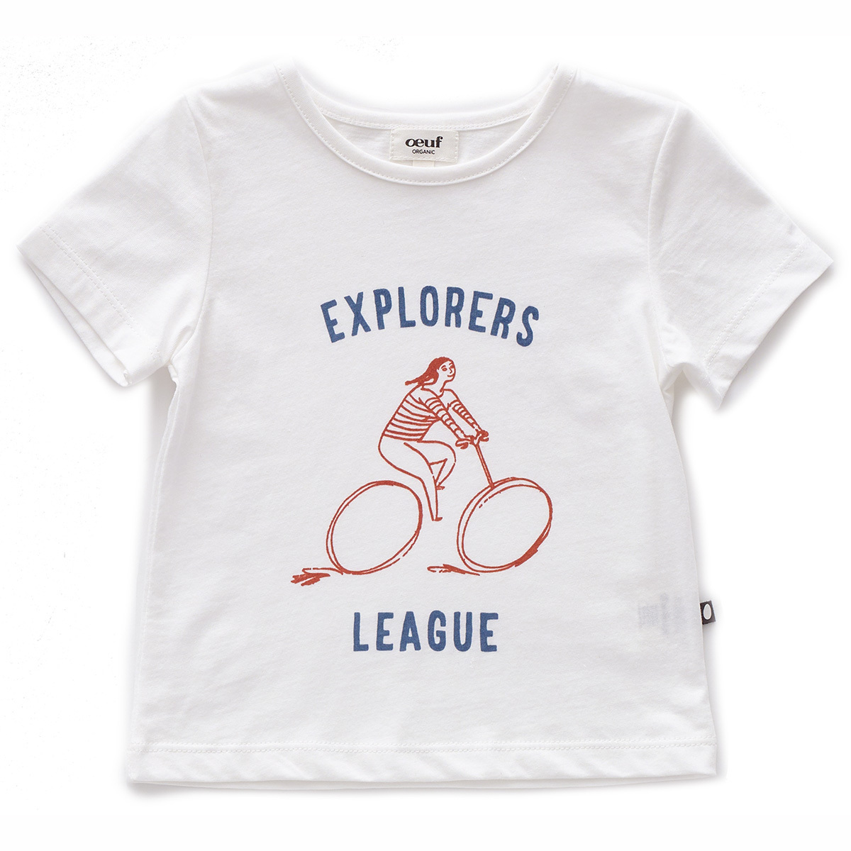 Haut bébé T-Shirt Explorer - Blanc - 12 Mois