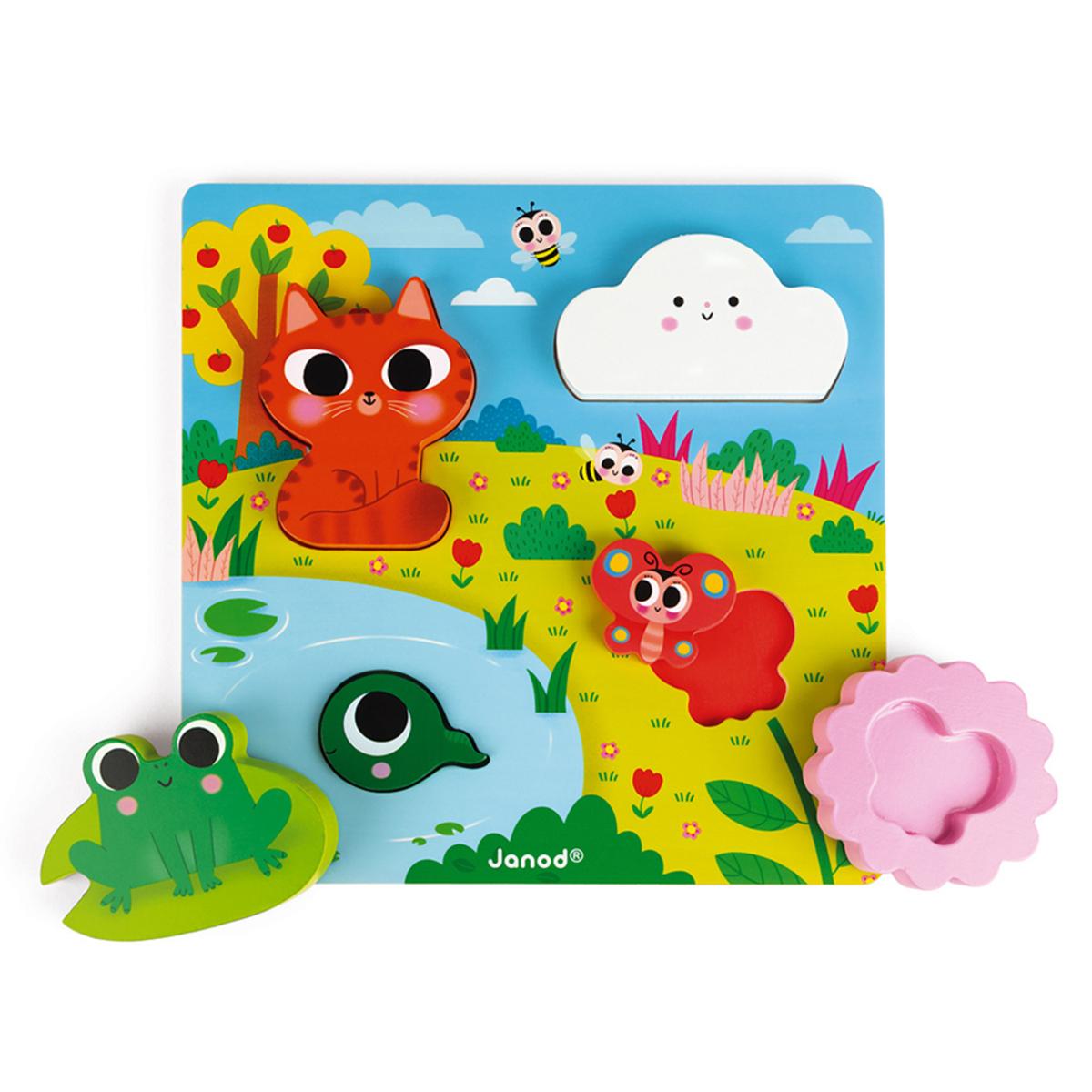 Mes premiers jouets Puzzle Cache-Cache Nature Puzzle Cache-Cache Nature