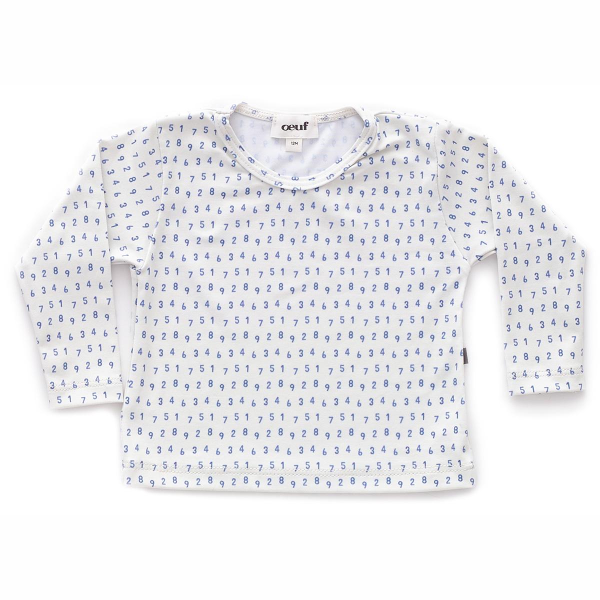 Accessoires bébé T-Shirt de Bain Numbers - Blanc - 12 Mois T-Shirt de Bain Numbers - Blanc - 12 Mois