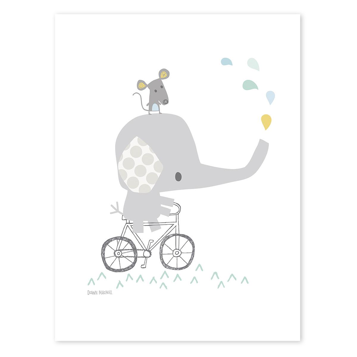 Affiche & poster Affiche Bébé Eléphant