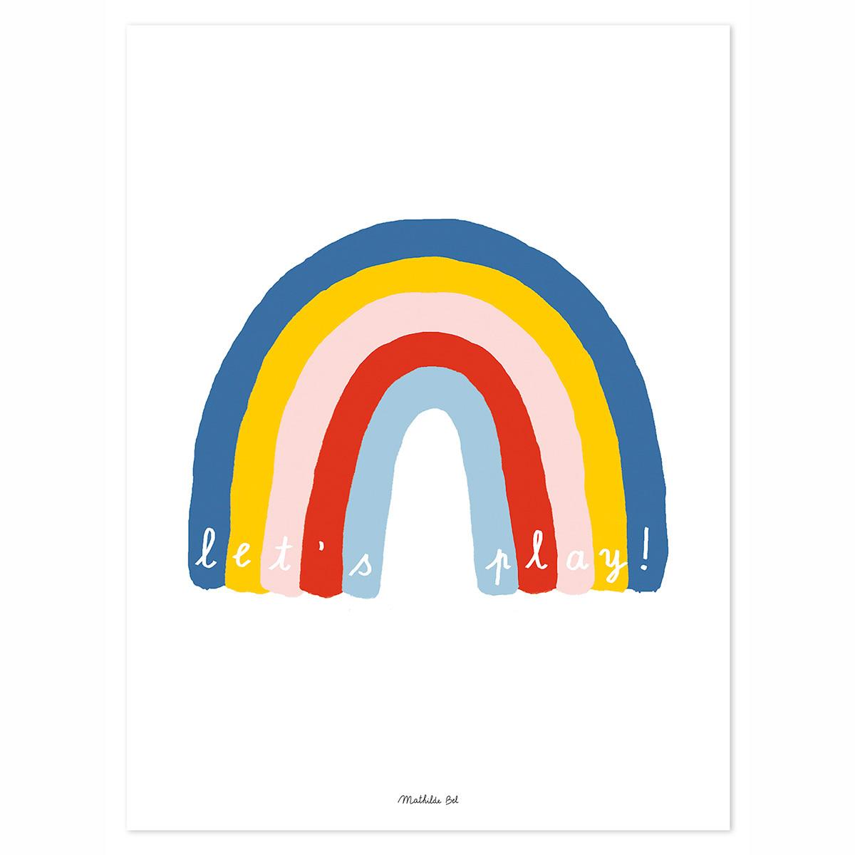 Affiche & poster Affiche Arc-En-Ciel Affiche Arc-En-Ciel