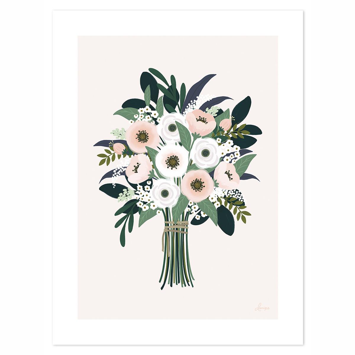 Affiche & poster Affiche Un si Joli Bouquet