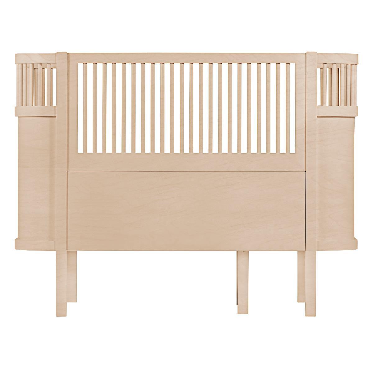 Lit bébé Lit Bébé Evolutif Sebra Bed Bois - 70 x 110 cm Lit Bébé Evolutif Sebra Bed Bois - 70 x 110 cm