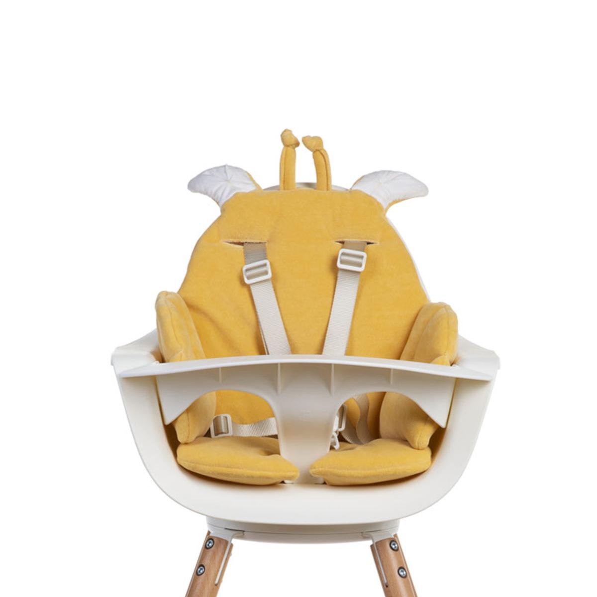 Chaise haute Coussin de Chaise Giraffe Velvet - Ochre Coussin de Chaise Giraffe Velvet - Ochre