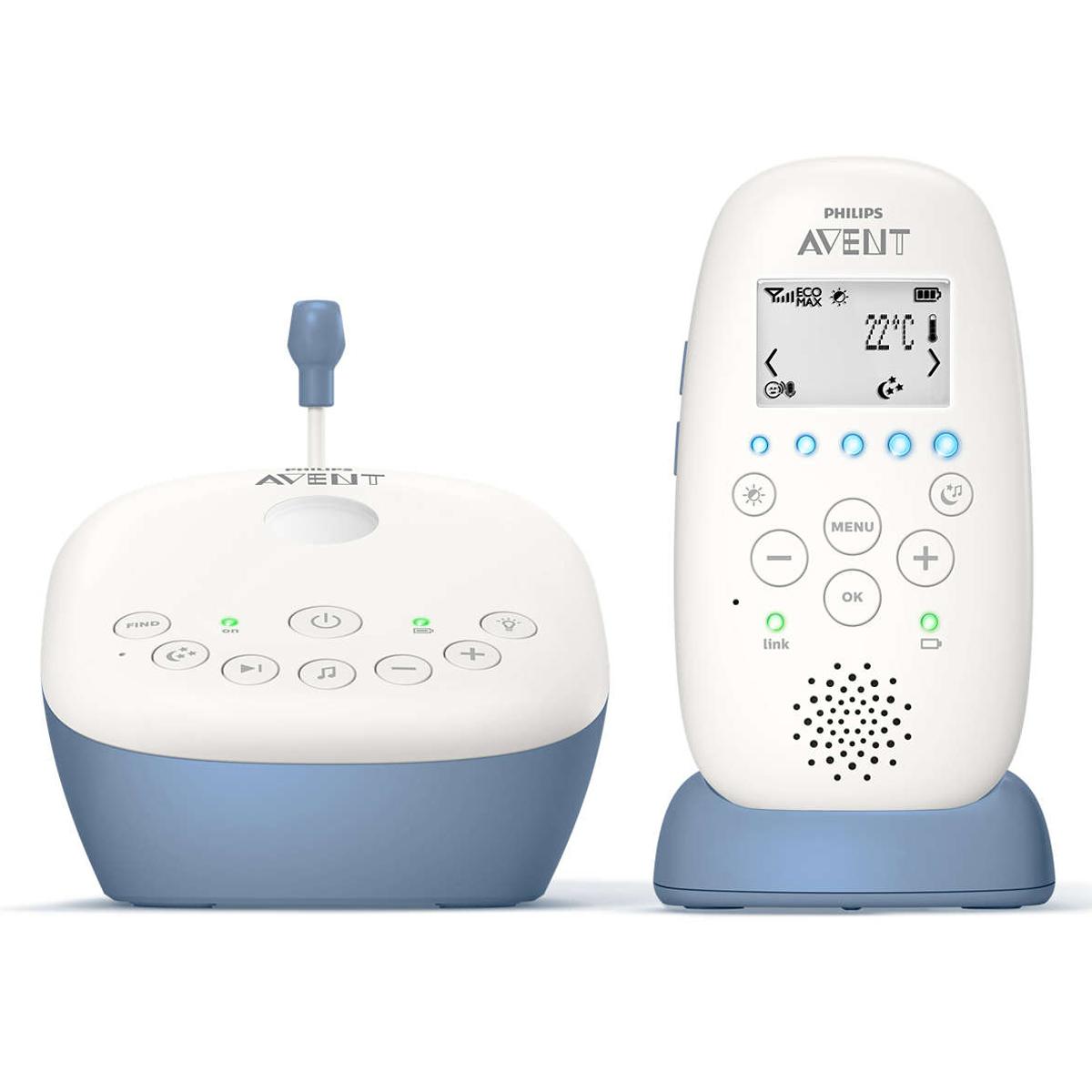 Écoute bébé Ecoute-bébé DECT LCD Projecteur - SCD735/00 Ecoute-bébé DECT LCD Projecteur - SCD735/00