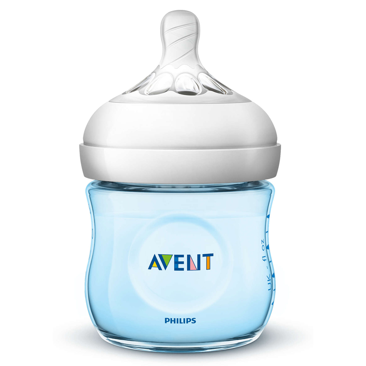 Biberon Biberon Natural Bleu - 125 ml