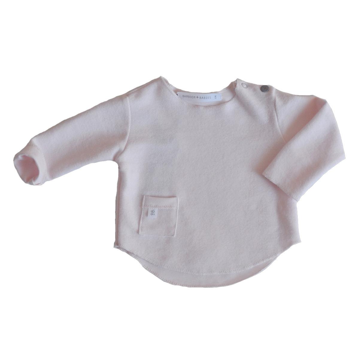 Haut bébé Tee-Shirt Manches Longues Rose - 6 Mois Tee-Shirt Manches Longues Rose - 6 Mois