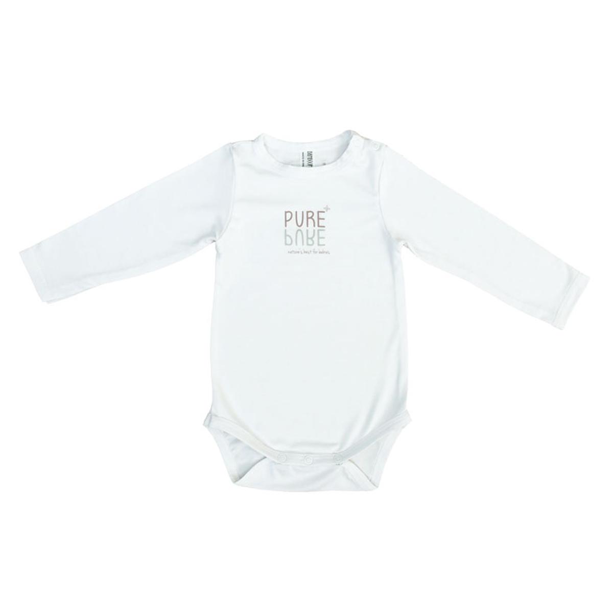 Body & Pyjama Body Manches Longues Blanc - 12/18 Mois Body Manches Longues Blanc - 12/18 Mois