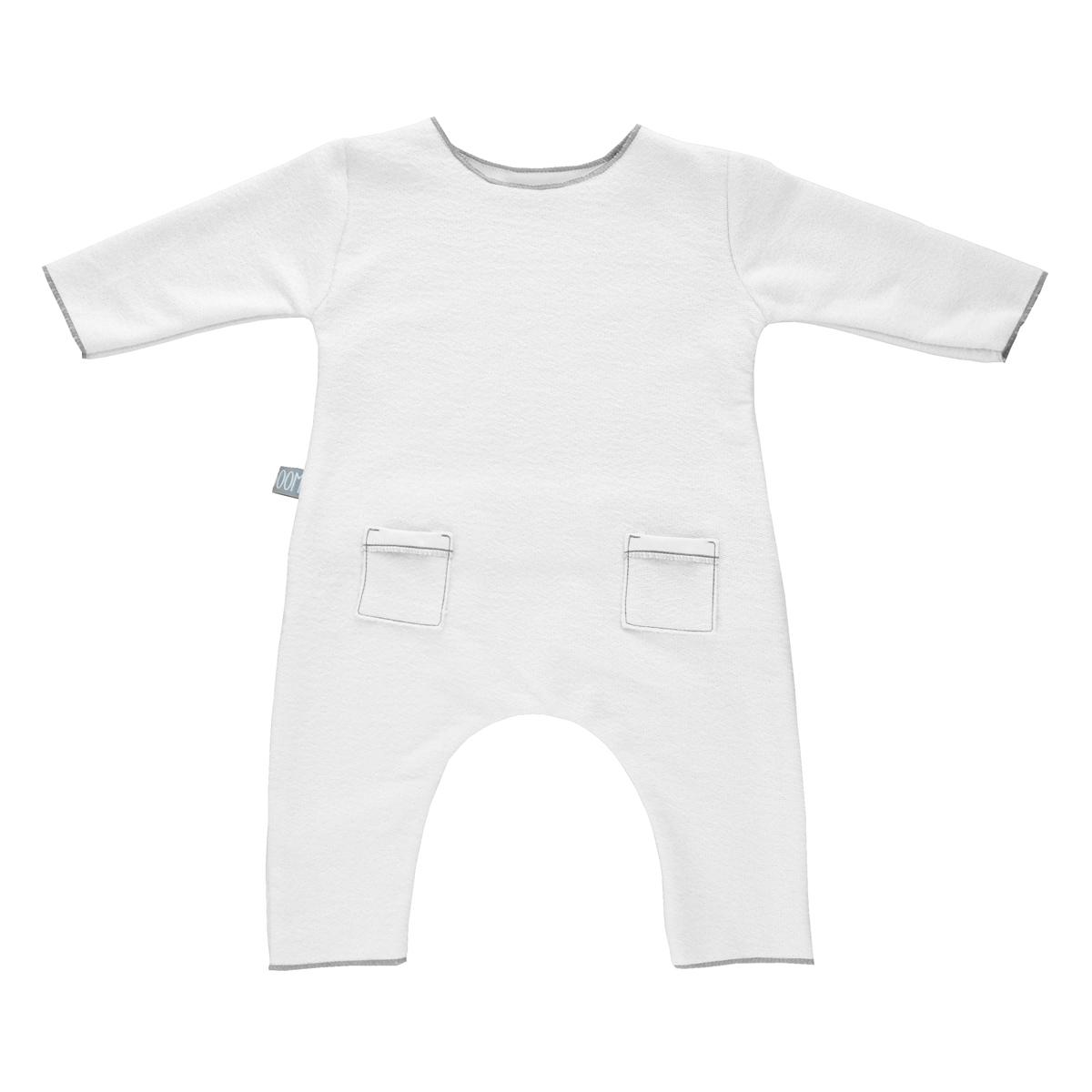 Robe & combinaison Combinaison Blanc - 1 Mois Combinaison Blanc - 1 Mois