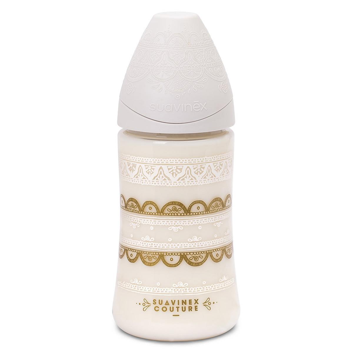 Biberon Biberon Ethnic Blanc - 270 ml Biberon Ethnic Blanc - 270 ml