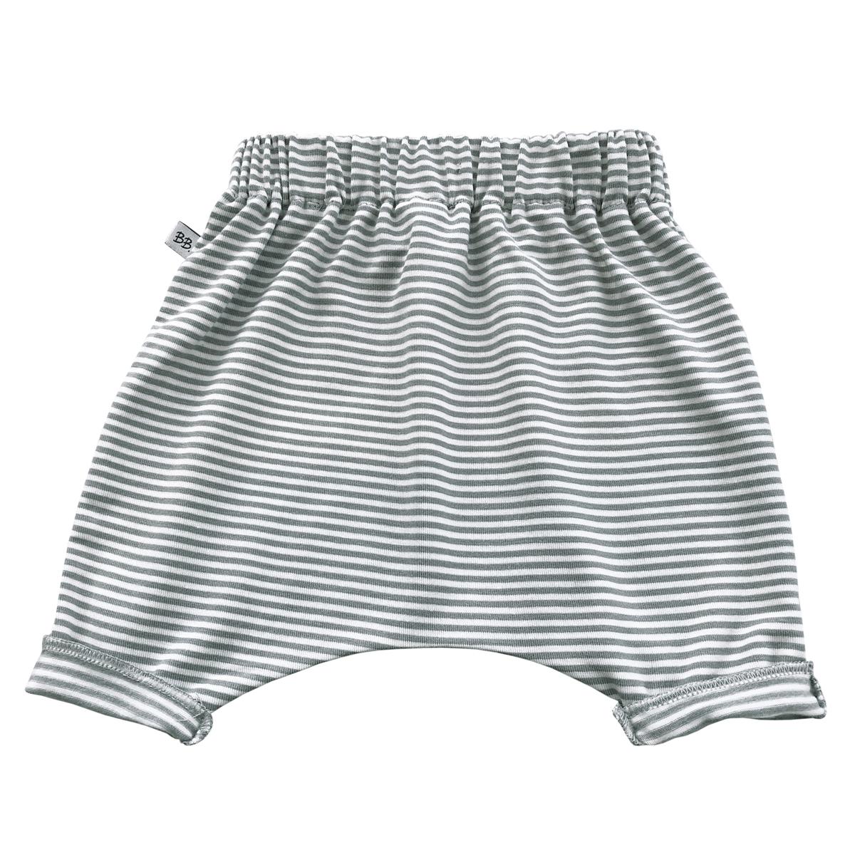 Bas bébé Pantalon Sarouel Milleraies Vert - 3 Mois Pantalon Sarouel Milleraies Vert - 3 Mois