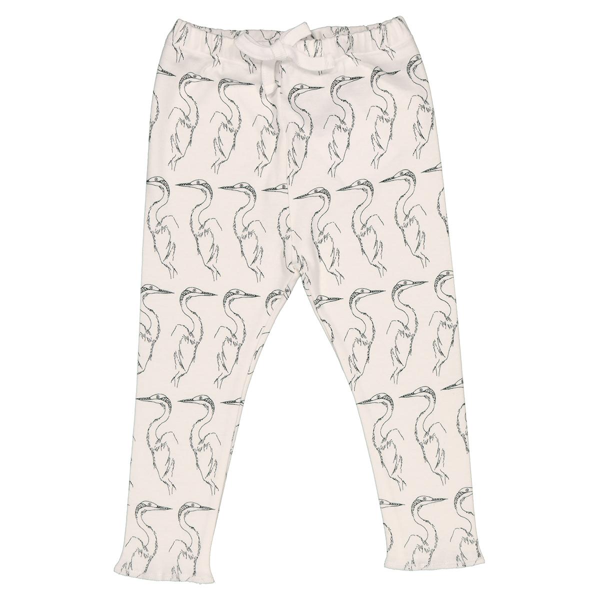 Bas bébé Legging Milo Aigrette - 3 Mois