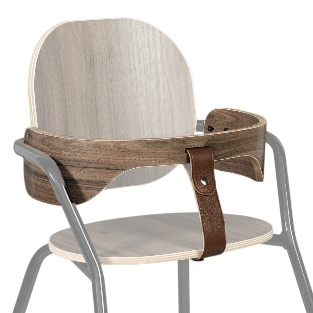 Chaise haute Ceinture et Harnais pour Chaise Haute Tibu - Noyer Ceinture et Harnais pour Chaise Haute Tibu - Noyer