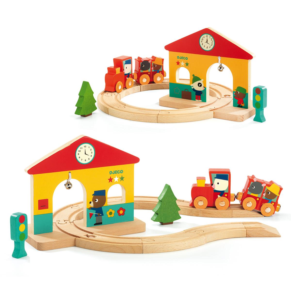 Mes premiers jouets Petit Train en Bois Minitrain Petit Train en Bois Minitrain