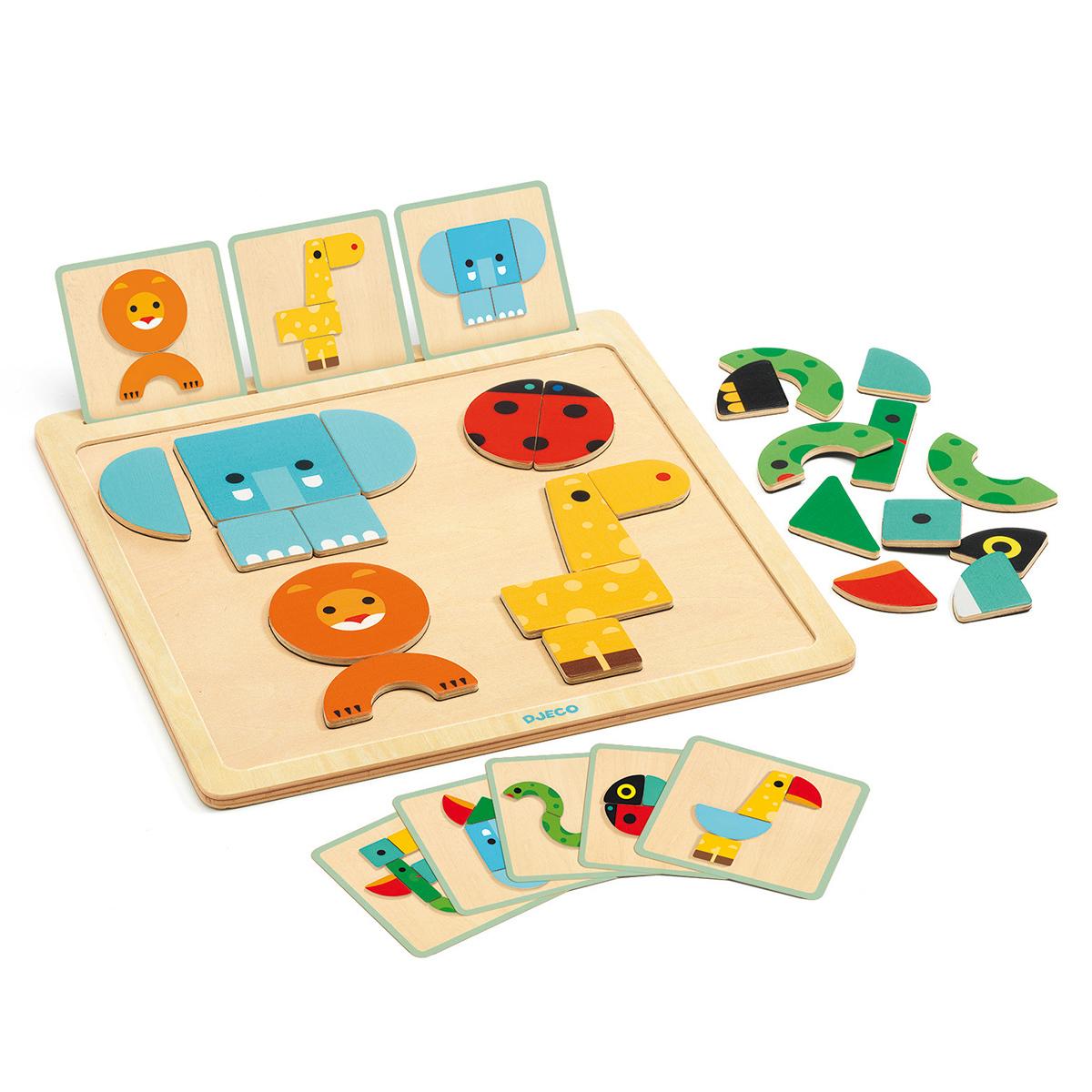 Mes premiers jouets Jeu d'Assemblage Geobasic