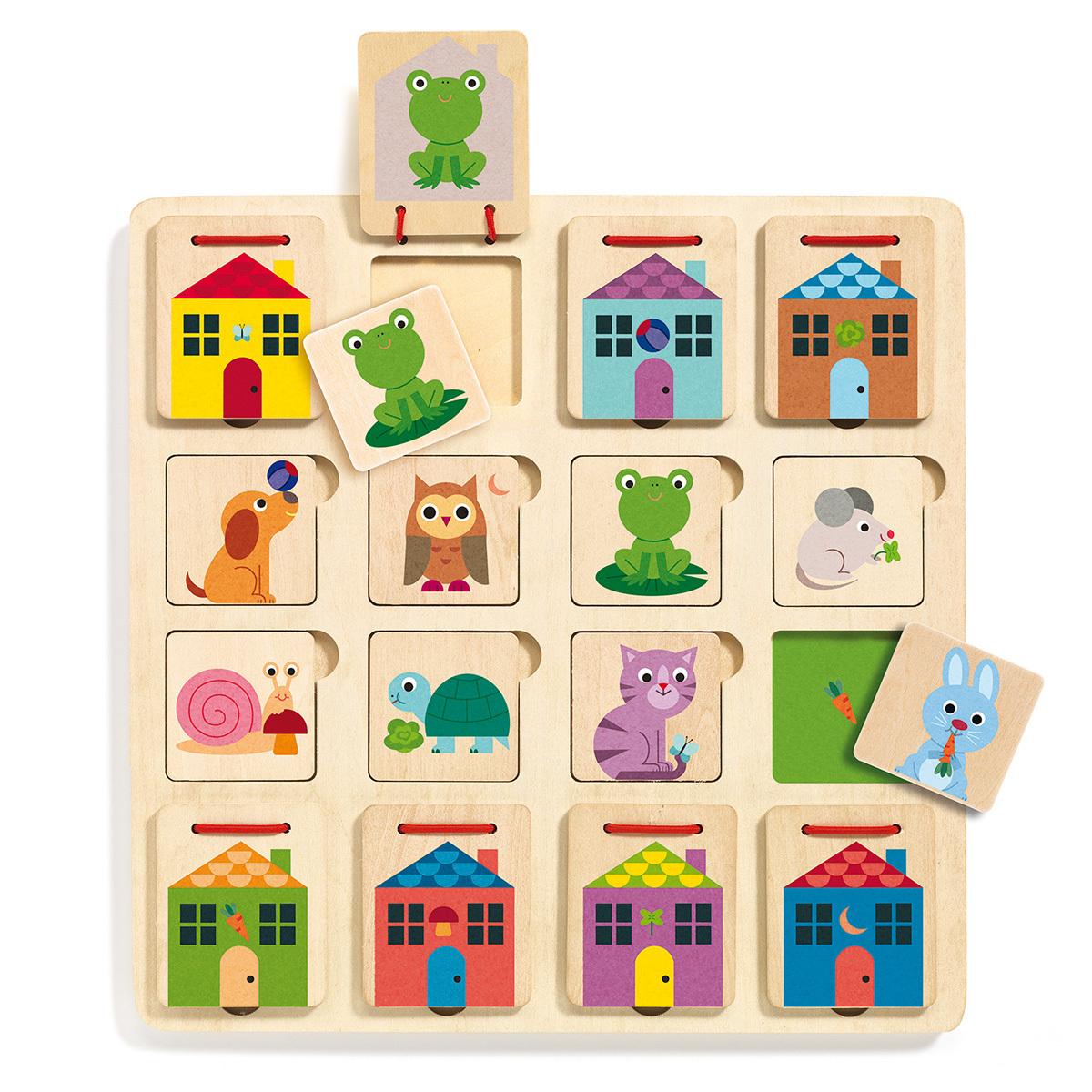 Mes premiers jouets Jeu de Cache-Cache Cabanimo Jeu de Cache-Cache Cabanimo