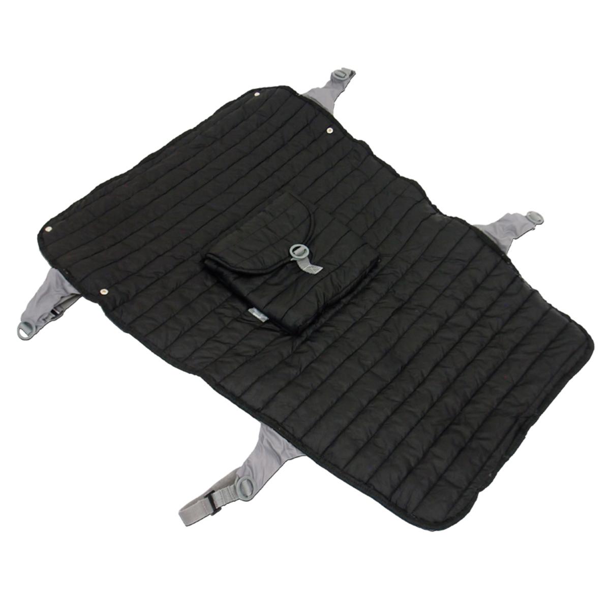 Accessoires poussette Couverture de Poussette Easy Pocket - Noir Couverture de Poussette Easy Pocket - Noir